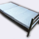 木製ベッドシングルサイズ☆指圧マット付