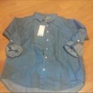 新品未使用 ユニクロ デニムシャツS