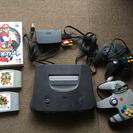 Nintendo 64 ソフト3つ付き