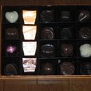 GODIVAのチョコレートサンプル