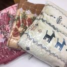 これからの季節に必需品(^^)毛布です。