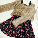 CECIL McBEE ニット×花柄ワンピ♡ セット