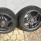 タイヤ、アルミ4本セット
