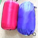 寝袋2個セット 未使用