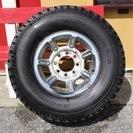 値下げ!新古 ハマーH2 タイヤ315/70R17 4本セット