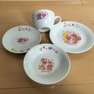 スージーズーマグカップとお皿のセット(中古)①