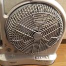 充電式ラジオ蛍光灯付多機能扇風機