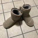 19cm ブーツ 可愛いリボン付き【美品】
