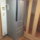 【中古美品】東芝 冷蔵庫 置けちゃうスリム 427L 修理保証期間...