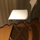 ☆美品☆IKEA家具(バースツール 背もたれ付き 折りたたみ式, ...