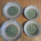 ★ポーランド食器風・安心の日本製★ カレー皿・ボウル皿セット