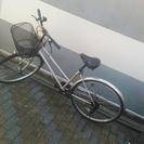 【中古】 自転車 26インチ 人気のシルバー