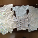 【交渉中】新生児肌着7枚セット☆サイズ50から60