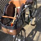 値下げ☆子供乗せ自転車 三人乗り対応