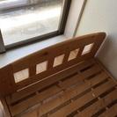 ニトリ製すのこベッド
