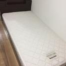 (商談中)シングルベッド(枠+マットレス)