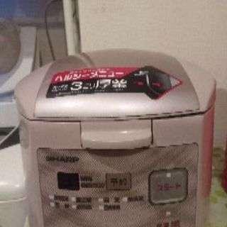 SHARP 3合炊き炊飯器