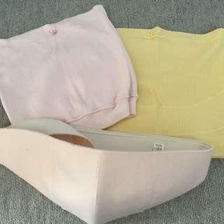 産前ガードル、腹帯、妊婦帯☆3枚セット☆マタニティサポート