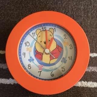 プーさん 掛時計 新品