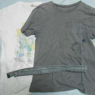 【2,000円】安藤裕子LIVEグッズ(Tシャツ&ベルト)