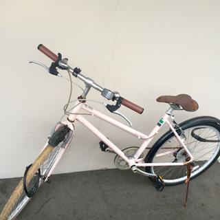 中古自転車差し上げます。