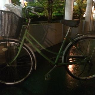 中古自転車  ママチャリ
