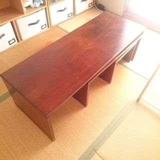 ネストテーブル(入れ子式ローテーブル)