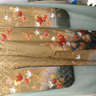 振袖、帯SET 京友禅古典柄 正絹 身長155cm~165cm位の方