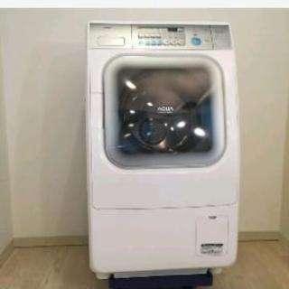 AQUA ドラム式乾燥機付洗濯機43000円 手渡しで5000円引き