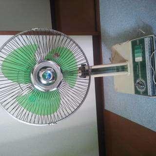明日朝まで!!レトロ扇風機