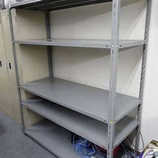 スチールラック 棚4段分組立式 W1500xD600xH1800 1台