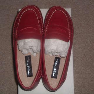 新品 神戸時見の靴 25.0cm 5E 本革