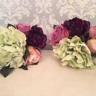 綺麗な造花(2セット)