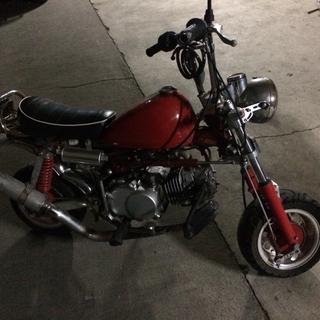 バイク!ホンダゴリラ49cc