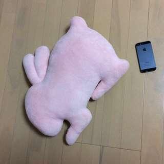 手つくり 抱き枕 可愛いウサギ