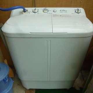 ハイアール 2槽式洗濯機 4Kg用 洗濯のみ可