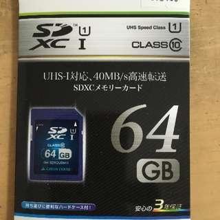 SDXC 64G