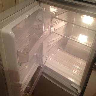 シャープ製2ドア冷蔵庫