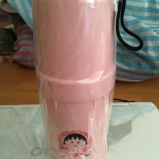 新品未使用品  箱入り、ちびまる子ちゃん、ペットボトル保冷ケース