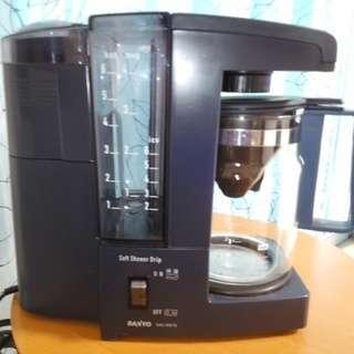 ☆SANYO SAC MST6 コーヒーメーカー☆2004ミル付☆...