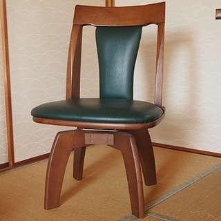 座面が回転する椅子