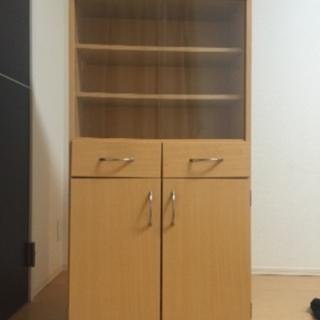 一人暮らし向け食器棚