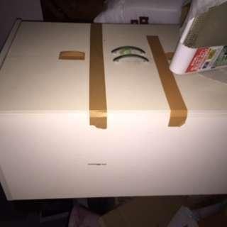 11/3まで!準備中/白い食器棚 H180・W60・D45