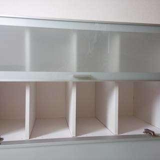 白の食器棚 高さ180!