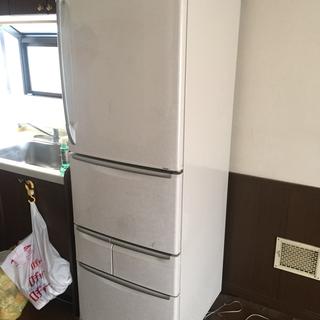 5ドア冷蔵庫 三菱 401L 板橋区