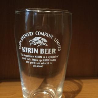 キリンビールのビールグラス
