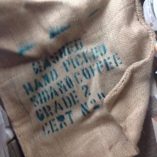 used)コーヒー豆麻袋