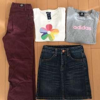 【お得】女児120〜130秋冬4点セット♡GAP・adidas・B...