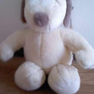 スヌーピー 耳鼻ブラウン 身長約48cm素人採寸