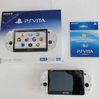 PS Vita PCH-2000  + 16Gメモリーカード 極美品